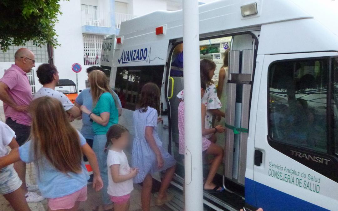 Talleres de Promoción y Prevención de la salud en Cabo de Gata y San José impartidos por personal de Urgencias