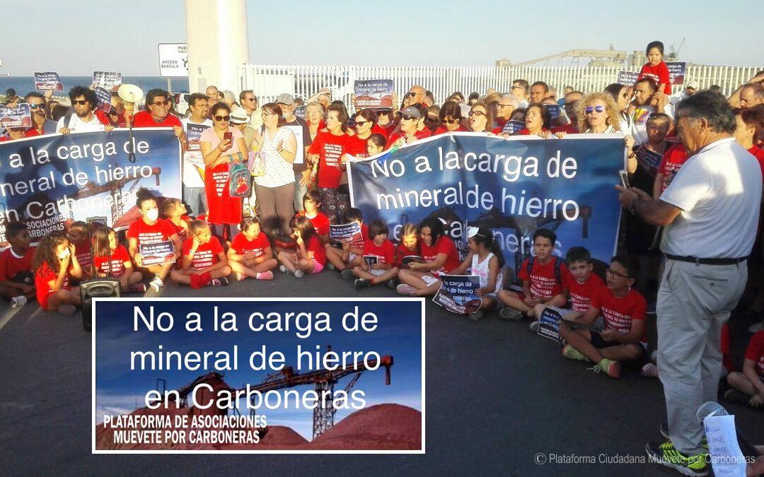 Amigos del Parque presenta recurso contra la carga de mineral de hierro en Carboneras