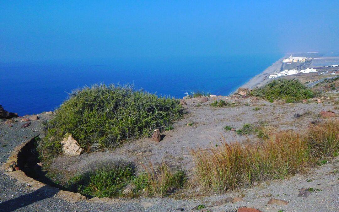 Los Restos de la batería del Cerro de la Testa. Ventana hacia el mar y la memoria